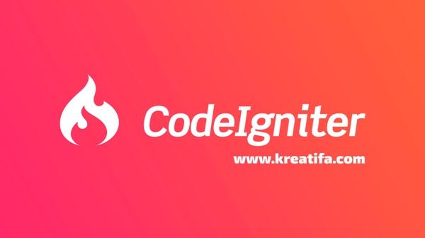 framework-codeigniter-kreatifa