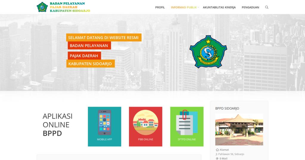 FireShot Capture 1 - Badan Pelayanan Pajak Daerah Kab. _ - http___pajakdaerah.sidoarjokab.go.id_web_